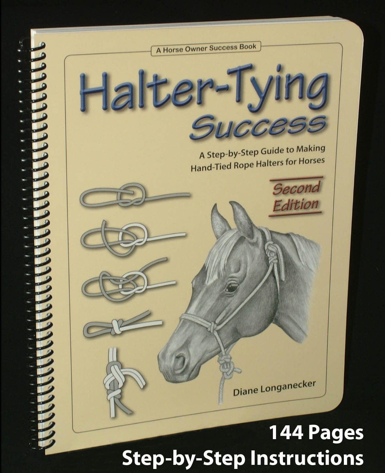 Halter tying success a book on how to make a rope halter for a horse photo of halter tying success cover ccuart Image collections